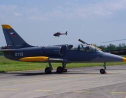 Helicopter show 2018 - letoun L39C