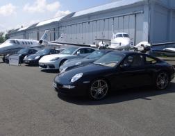 Helicopter show 2018 - přehlídka Porsche