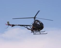 Helicopter show 2018 - vrtulník Schweizer 300 C