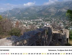 Kalendář 2019 - Černá Hora, Tvrdjava Golo Brdo