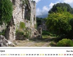 Kalendář 2019 - Černá Hora, Stari Bar