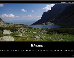 Březen - Vysoké Tatry