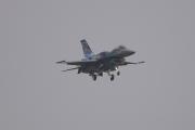 NATO days 2014 - řecká F-16 jde na přistání