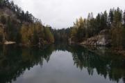 Adršpašsko-teplické skály - jezero pískovna