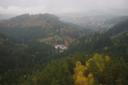 Adršpašsko-teplické skály - výhled z místa, kde stával hrad Střmen