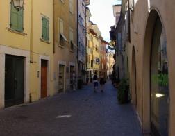 Arco - typické italské úzké uličky