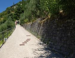 Arco - výstup k hradu