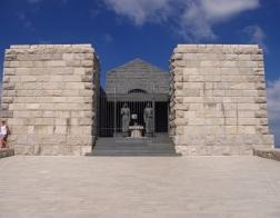 Černá Hora - Jezerski vrh (NP Lovćen), Mauzoleum Petara Petroviće Njegos (slavný básník a filozof)