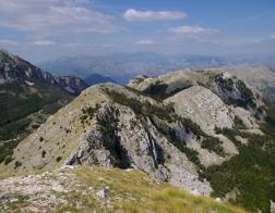 Černá Hora - Jezerski vrh (NP Lovćen)