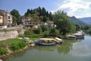 Černá Hora - městečko Virpazar