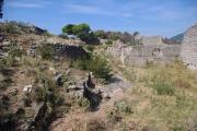 Černá Hora - Sutomore, pevnost Tabija