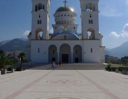 Černá Hora - město Bar, chrám svatého Jana Vladimíra