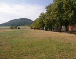 České středohoří - cesta na horu Říp