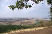 České středohoří - výhled z hory Říp