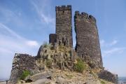 České středohoří - zřícenina hradu Hazmburk