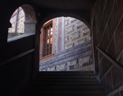 Český Krumlov - zátiší na zámku