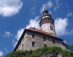 Český Krumlov - zámecká věž