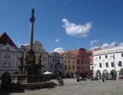 Český Krumlov - náměstí Svornosti