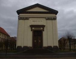 Terezín - kostel Vzkříšení Páně