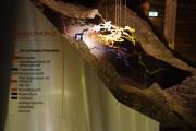 Model Mamutí jeskyně - celý komplex má přes 50km chodeb
