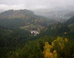 Adrspach-Teplice Rocks - castle Strmen view