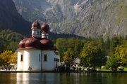 Germany - Konigssee, Church St. Bartholoma