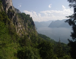 Austria - Traunsee lake and Traunstein mountain