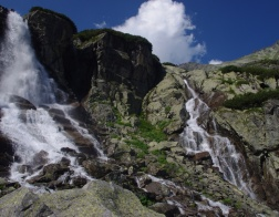 Slovakia - National Park of High Tatras, waterfall Skok