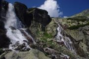 Slovakia - National Park of High Tatras, waterfall Skok