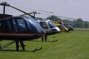 Helicopter show 2018 - ukázkové stroje