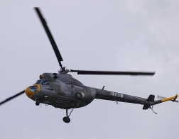 Helicopter show 2018 - vrtulník Mil Mi-2 Sz Hoplite