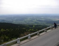 Výhled od vysílače Ještěd