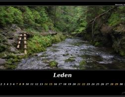 Leden - slovenský ráj