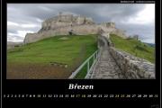 Březen - Spišský hrad