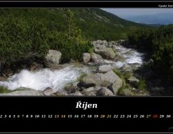 Říjen - Vysoké Tatry