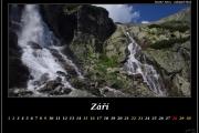 Září - vodopád Skok