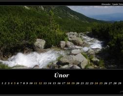 Únor - Vysoké Tatry