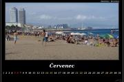 Červenec - Barcelona