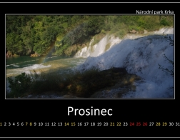 Prosinec - národní park Krka