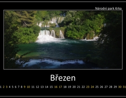 Březen - Národní park Krka