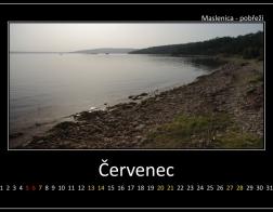 Červenec - Maslenica, pobřeží