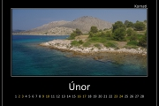 Únor - Kornati