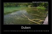 Duben - Plitvická jezera