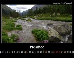 Prosinec - údolí Dorfertal