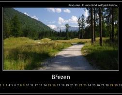 Březen - Cumberland Wildpark Grünau