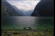 Říjen - jezero Königsee