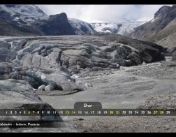 Únor - ledovec Pasterze