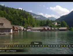Srpen - jezero Königsee