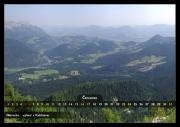 Červenec - výhled z Kehlsteinu