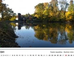 Kalendář 2018 - Bučický mlýn